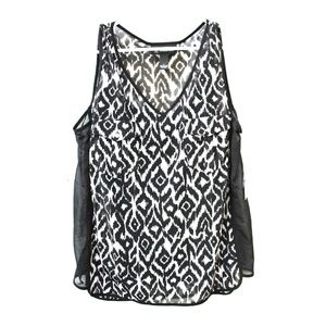 Women's sleeveless Top Blouse with Camisole